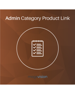 MageVision Admin Category Product Link for Magento 2