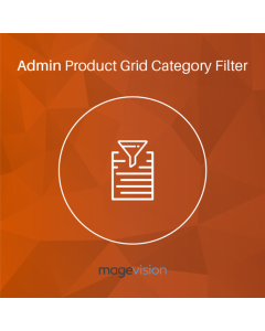 MageVision Admin Product Grid Category Filter for Magento 2