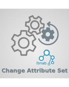 IBNAB Change Attribute Set - FREE for Magento 2