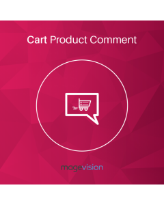 MageVision Cart Product Comment for Magento 2