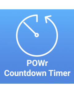 POWr Countdown Timer - FREE for Magento 2