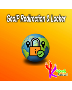 Yogesh Khasturi GeoIP Redirection & Locker - FREE for Magento 2