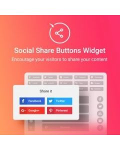 Elfsight Social Share Buttons Widget - FREE for Magento 2