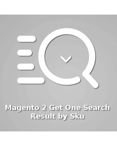IBNAB Get One Search Result By Sku - FREE for Magento 2