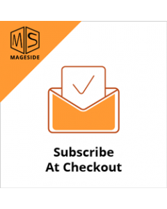 Mageside Subscribe At Checkout - FREE for Magento 2